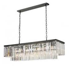 linear crystal chandelier. 1920 12 Light Crystal Chandelier Linear S