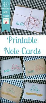 Free Printable Note Cards Free Printable Note Cards Bloggers Best Note Cards Cards Free