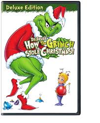 how the grinch stole christmas book cover.  Christmas Amazoncom Dr Seussu0027 How The Grinch Stole Christmas Deluxe Edition  Boris Karloff Seuss Movies U0026 TV In The Book Cover H
