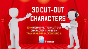 Cut Out Character Template Cut Out Characters Template Youtube
