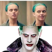 the joker without makeup jk it s just katy perry