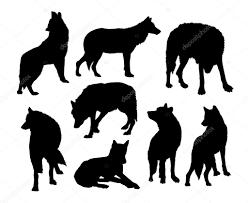 Immagini Di Lupi Facili Da Disegnare Sagome Di Animali Selvatiche