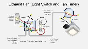 exhaust fan wiring diagram fan timer switch wiring a shower fan light
