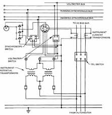 wiring for alternators For Pole Mount Transformer Connection Diagrams 6 a wiring diagram for instruments and potential transformers Pole Mount Distribution Transformer