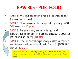 academic writing skills ppt  5 rpw