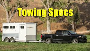 2017 Chevy Colorado ZR2: Comprehensive Guide to Maximum Towing and ...