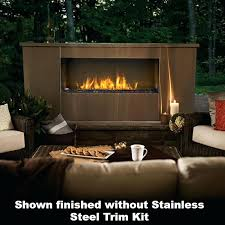 linear gas fireplace h series ventless linear gas fireplace