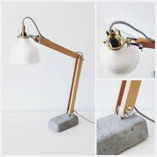 creative picture of diy led desk lamp w strip lights