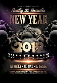 New Year Flyers Template Free New Years Eve Flyer Templates In Psd By Elegantflyer