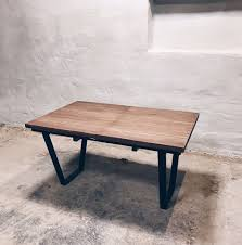 industrial furniture table. Industrial Extendable Dining Table Seats 12 Furniture