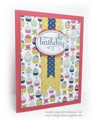 Birthday Cards Design For Kids Handmade Birthday Card Cupcakes And Flag Cards Handmade