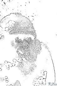 Gorilla Kleurplaten Kidre