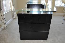 small office reception desk. Small Reception Desk Black Office R