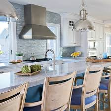 beach house kitchen designs. In This Delaware Kitchen, Ocean Inspiration Is Everywhere, From The Polished-nickel Light Beach House Kitchen Designs S