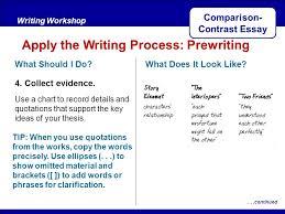 comparison contrast essay ppt comparison contrast essay
