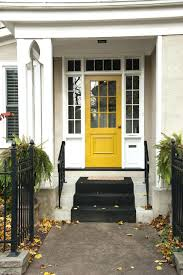 white front door yellow house. Yellow House Front Door White Black: Full Size