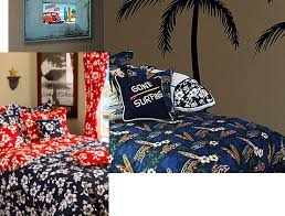 hawaiian bedding tropical bedding