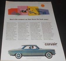 corvair diagram 1960 chevrolet corvair w diagram of rear mounted aluminum engine print ad