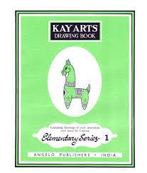 kayarts drawing book elementary series 1 1copy nandita white drawing book of 60