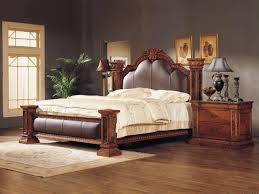 Bedroom: King Size Bedroom Furniture New Luxury Classical King Size Wooden  Bedroom Set 517 China