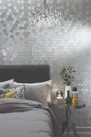 foil honeycomb by arthouse silver