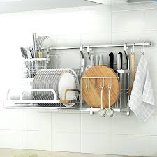 wall mounted dish drying rack stainless steel wall mounted kitchen display dish rack cutting board rack wall mounted dish drying rack