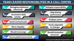 Team Leader Responsibilities In Call Center Personality
