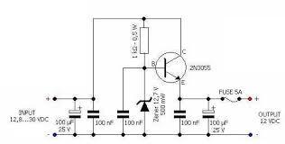 alternator regulator circuit diagram alternator car battery regulator to 12v 4 5a output electronics forum on alternator regulator circuit diagram