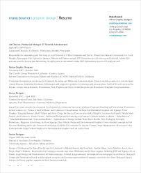 Resume Pdf Delectable Graphic Designer Resume Pdf Trenutno