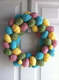 easy easter diy crafts easter egg wreath