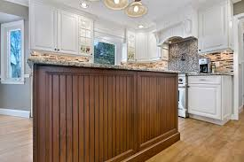 Kitchen Island Beadboard Kitchen Islands Peninsulas Design Line Kitchens In Sea Girt Nj