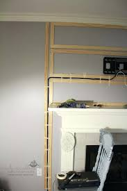how to hang tv above fireplace shining design mounting above fireplace hiding wires interesting ideas best