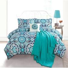 teal blue comforter sets turquoise teal blue and brown comforter sets