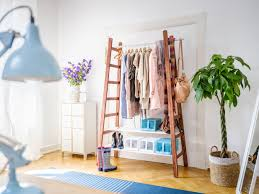 Upcycling Leiter Garderobe Selbstde