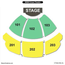 Mgm Cirque Seating Chart 27 Mgm Grand Seating Www Topsimages Com Mgm Grand Seating