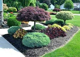 front yard landscaping design outdoor