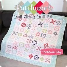 Quilt Kits - Exclusively Designed Quilting Kits | Fat Quarter Shop & Patchwork Quilt Along Quilt Kit Featuring Bonnie & Camille Basics by Moda  Fabrics Adamdwight.com