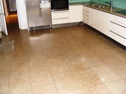 Kitchen Ceramic Tile Floor Ceramic Tile Floor Ideas White Painting L Shape Design Brass
