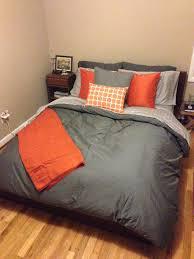 burnt orange comforter set grey and orange comforter amazing gray and orange bedding for orange and burnt orange comforter set