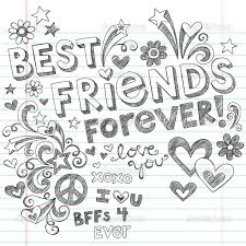 Best Friends Forever Coloring Pages Coloring Pages Pictures Best
