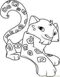 Small Picture Image for Animal Jam Coloring Pages Snow Leopard Projects to Try