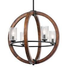 wood and brushed nickel chandelier dark wood chandelier vineyard wood chandelier wooden sphere light fixture wood lantern chandelier