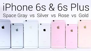 iphone 6 colors rose gold. iphone 6s and plus rose gold vs silver space gray [color comparison] iphone 6 colors b