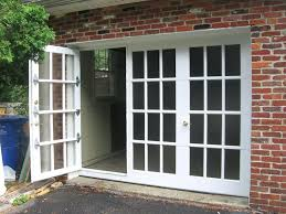 replacing garage door with french doors walk thru garage doors photo gallery replace garage door with replacing garage door