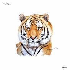 Tetování Voděodolná Tetovačka Na Tělo Tygr Ii
