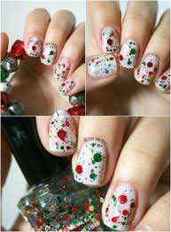 15 lovely nail art christmas designs | WearAll