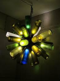 picture 35 bottle chandelier