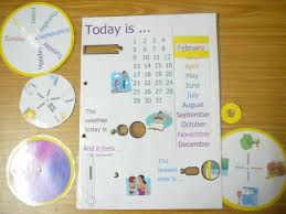 Day Date Weather Chart Day Week Month Season And Weather Chart With Rotating