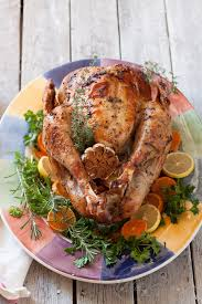 cooked whole turkey. Wonderful Whole Herb Roasted Turkey Recipe Inside Cooked Whole Turkey