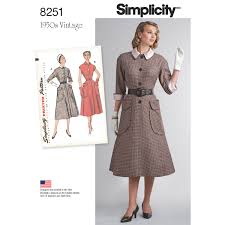 Simplicity Patterns Simple Simplicity Simplicity Pattern 48 Misses' Vintage 48's OnePiece